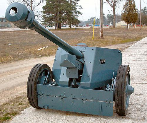 German 50 Mm Anti Tank Gun: PAK 40 7.5 Cm Anti-tank Gun