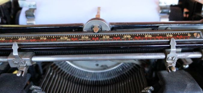Underwood  5 Standard Typewriter